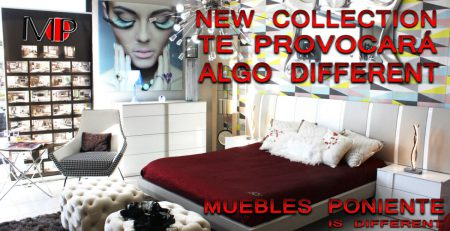 new collection by muebles poniente